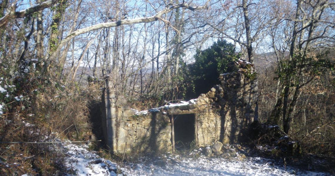 La grange avant restauration